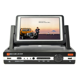 "HD DVR with 7"" LCD Screen all-in-one"