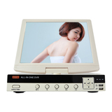 10.5inch LCD 4CH all-in-one DVR